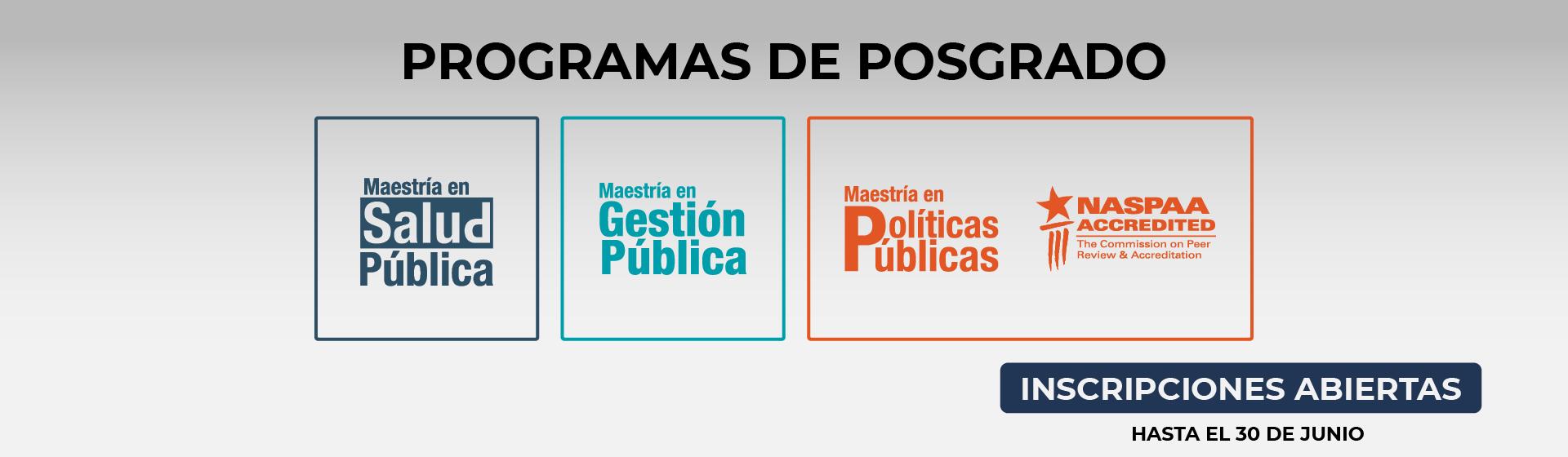Posgrados Escuela de Gobierno