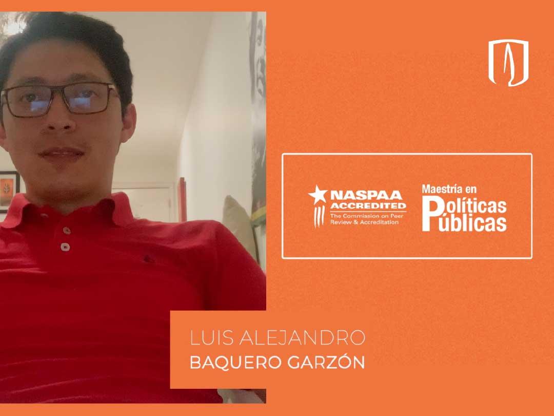Luis Alejandro Baquero Garzón