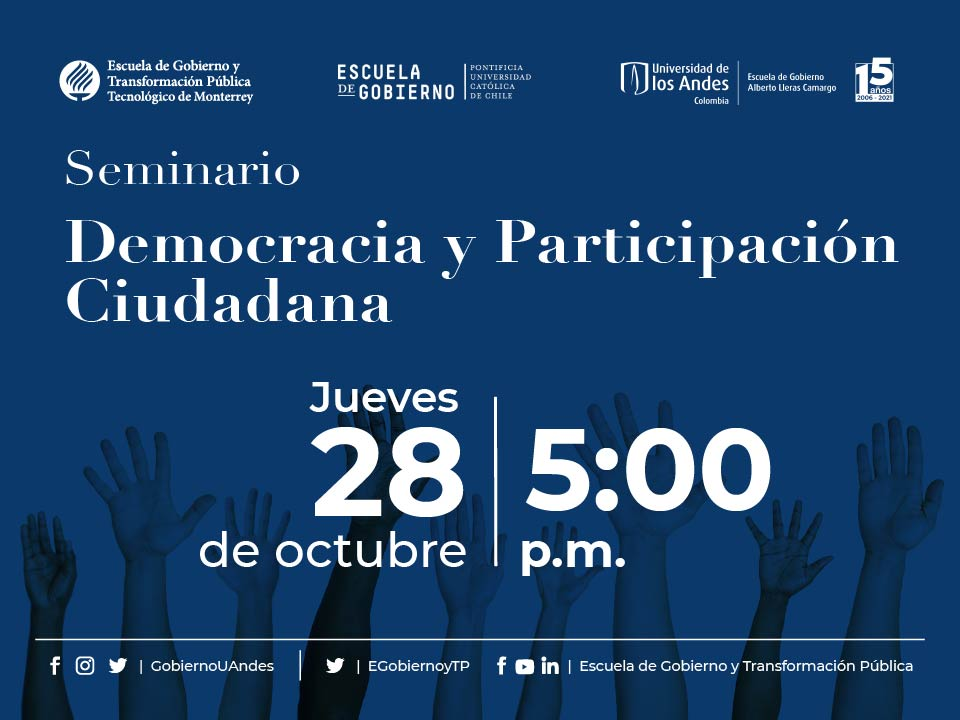 Seminario Democracia y Participación Ciudadana